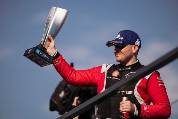 Home - Nissan Formula E driver Oliver Rowland