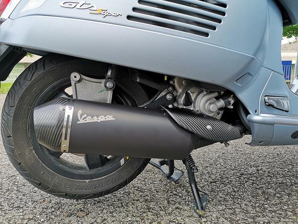 Home - Sport Exhaust Vespa GTS 300 E5 05